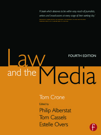 Law and the Media book cover