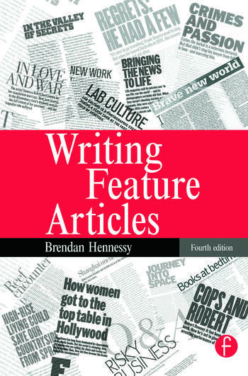 Writing Feature Articles book cover