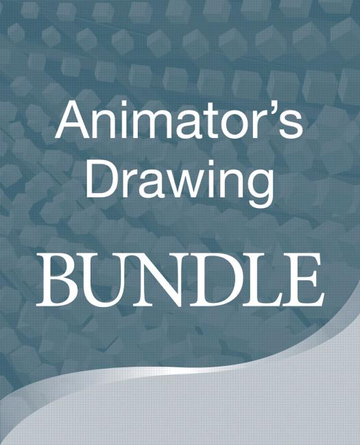 Animators Drawing bundle book cover