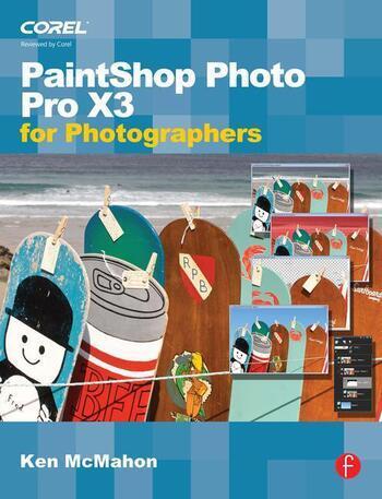PaintShop Photo Pro X3 For Photographers book cover