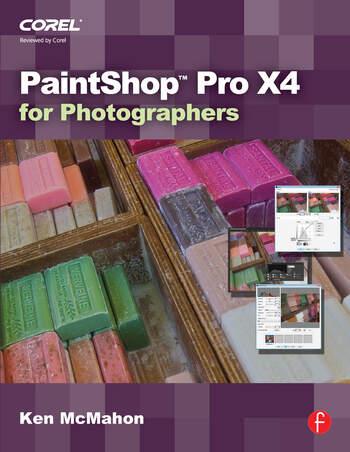 PaintShop Pro X4 for Photographers book cover