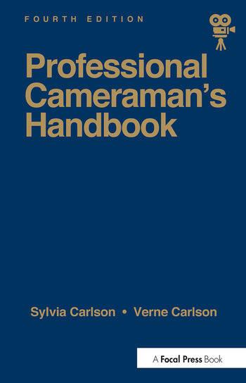 Professional Cameraman's Handbook, The book cover