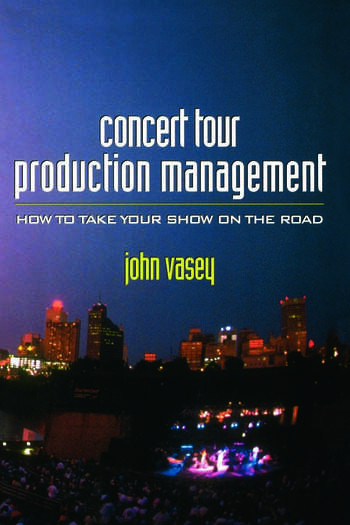 Concert Tour Production Management book cover