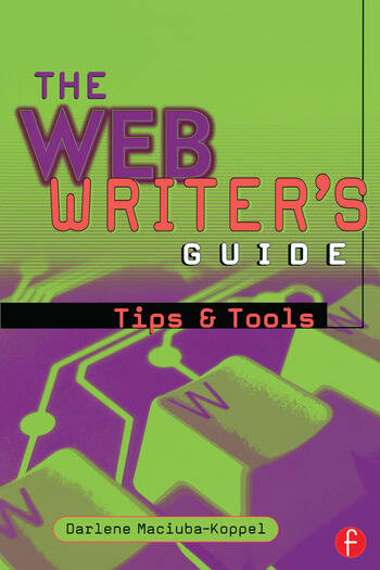 The Web Writer's Guide book cover
