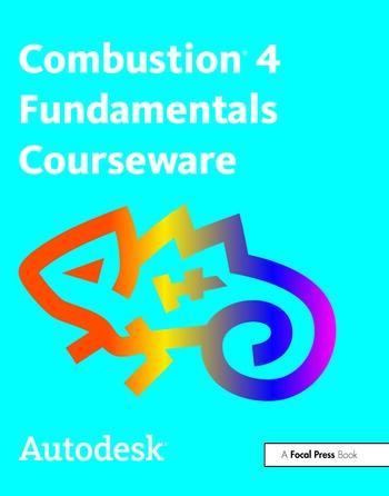 Autodesk Combustion 4 Fundamentals Courseware book cover