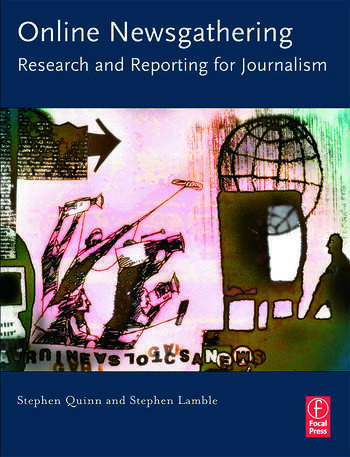 Online Newsgathering: Research and Reporting for Journalism book cover
