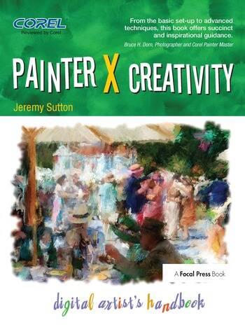 Painter X Creativity Digital Artist's handbook book cover