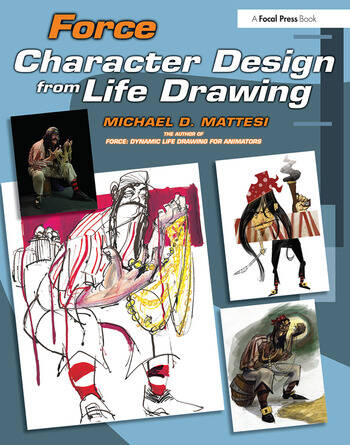 Force: Character Design from Life Drawing book cover