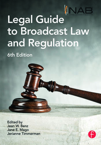 NAB Legal Guide to Broadcast Law and Regulation book cover
