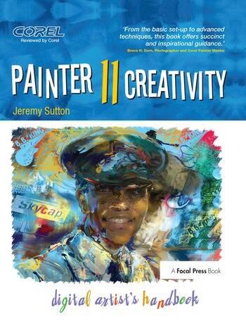 Painter 11 Creativity Digital Artist's Handbook book cover