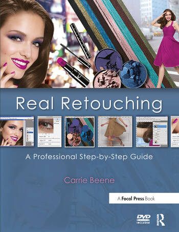 Real Retouching A Professional Step-by-Step Guide book cover