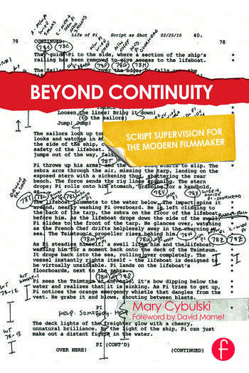 Beyond Continuity Script Supervision for the Modern Filmmaker book cover
