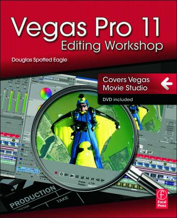 Vegas Pro 11 Editing Workshop book cover