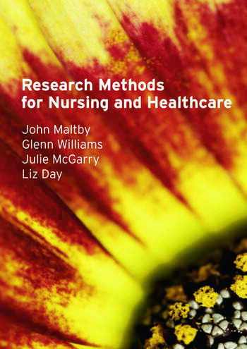Research Methods for Nursing and Healthcare book cover