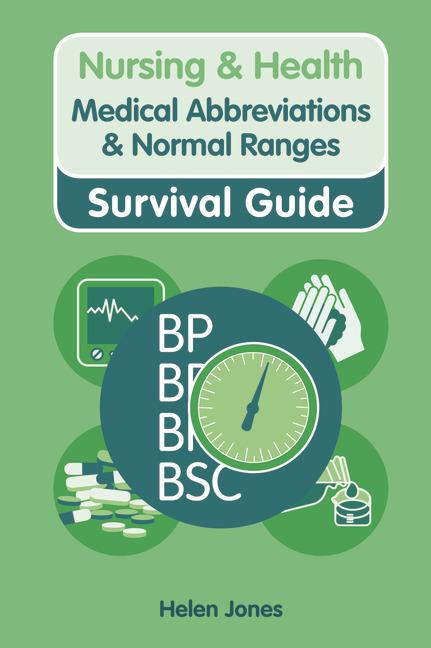 Medical Abbreviations and Normal Ranges book cover