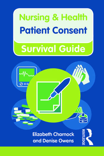 Patient Consent book cover