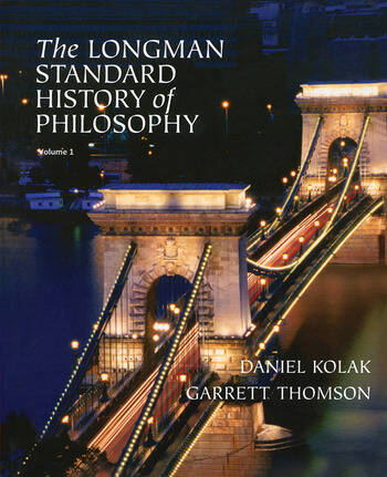 The Longman Standard History of Philosophy, VOL 1 & 2 book cover