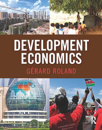 Development Economics book cover