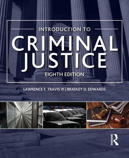 Introduction to Criminal Justice book cover