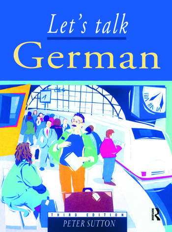 Let's Talk German Pupil's Book 3rd Edition book cover