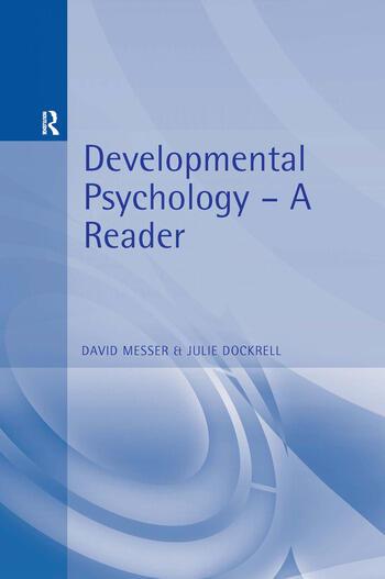 Developmental Psychology A Reader book cover
