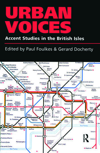 Urban Voices Accent Studies in the British Isles book cover