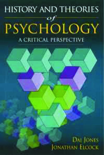 History and Theories of Psychology A Critical Perspective book cover