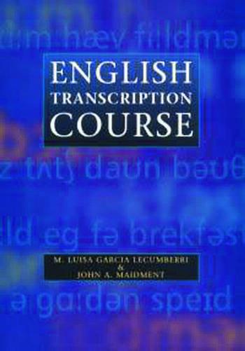 English Transcription Course book cover