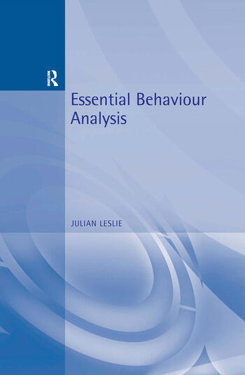 Essential Behaviour Analysis book cover