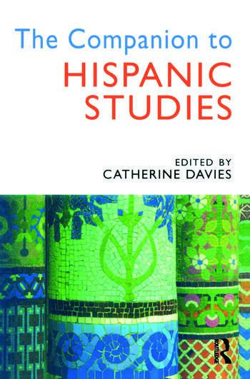 The Companion to Hispanic Studies book cover