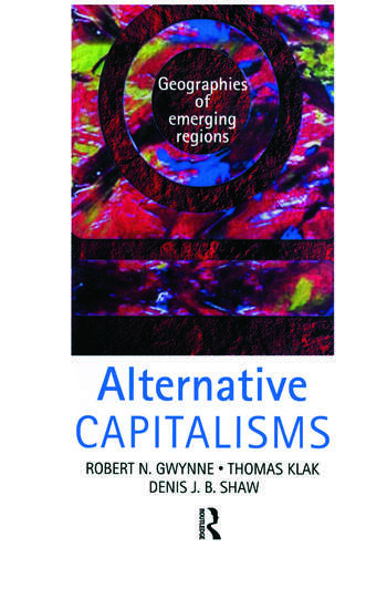 Alternative Capitalisms: Geographies of Emerging Regions book cover