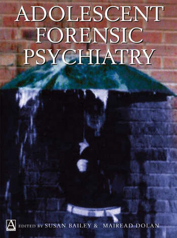 Adolescent Forensic Psychiatry book cover