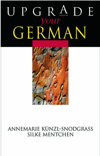 Upgrade your German book cover