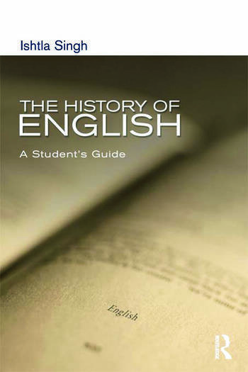 The History of English A Student's Guide book cover