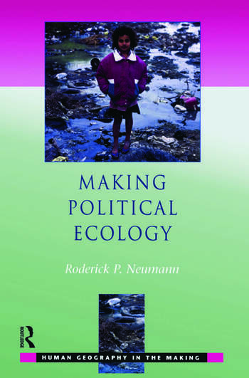 Making Political Ecology book cover