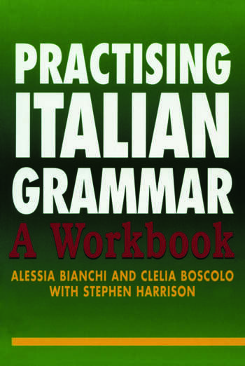 Practising Italian Grammar A Workbook book cover