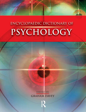 Encyclopaedic Dictionary of Psychology book cover