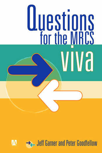 Questions for the MRCS viva book cover