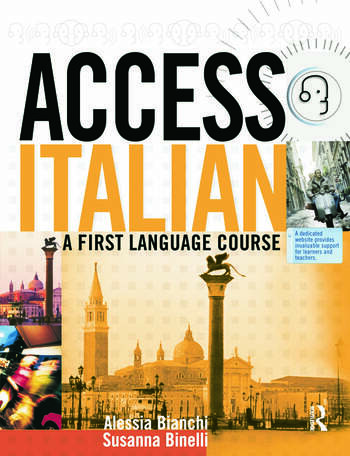 Access Italian A First Language Course book cover