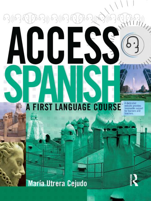 Access Spanish A first language course book cover