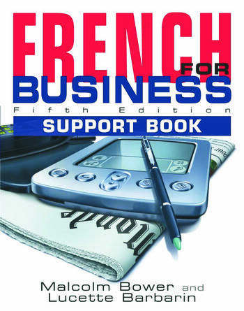 French for Business Students Book, 5th Edition book cover