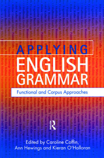 Applying English Grammar. Corpus and Functional Approaches book cover