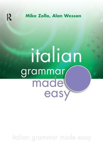 Italian Grammar Made Easy book cover