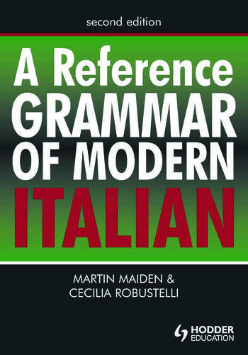 A Reference Grammar of Modern Italian book cover