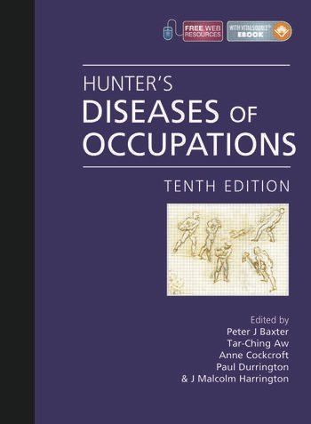 Hunter's Diseases of Occupations, Tenth Edition book cover