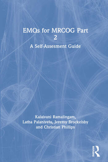 EMQs for MRCOG Part 2 A Self-Assesment Guide book cover