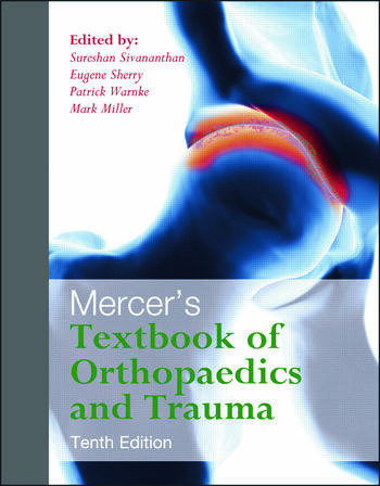 Mercer's Textbook of Orthopaedics and Trauma Tenth edition book cover