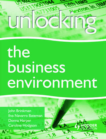Unlocking the Business Environment book cover