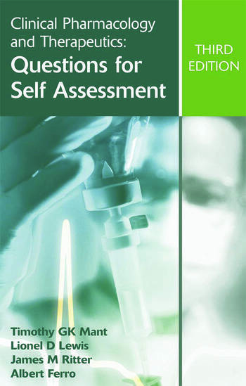 Clinical Pharmacology and Therapeutics: Questions for Self Assessment, Third edition book cover