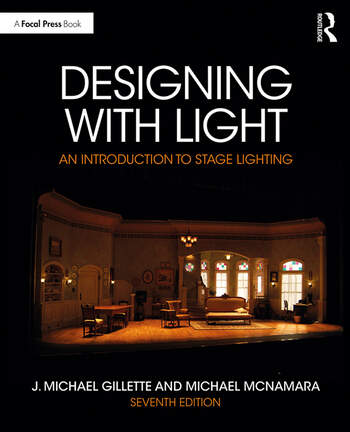 Designing with Light An introduction to Stage Lighting book cover